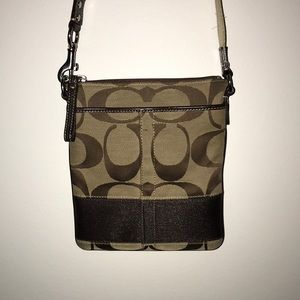 COACH, crossbody bag, adjustable strap